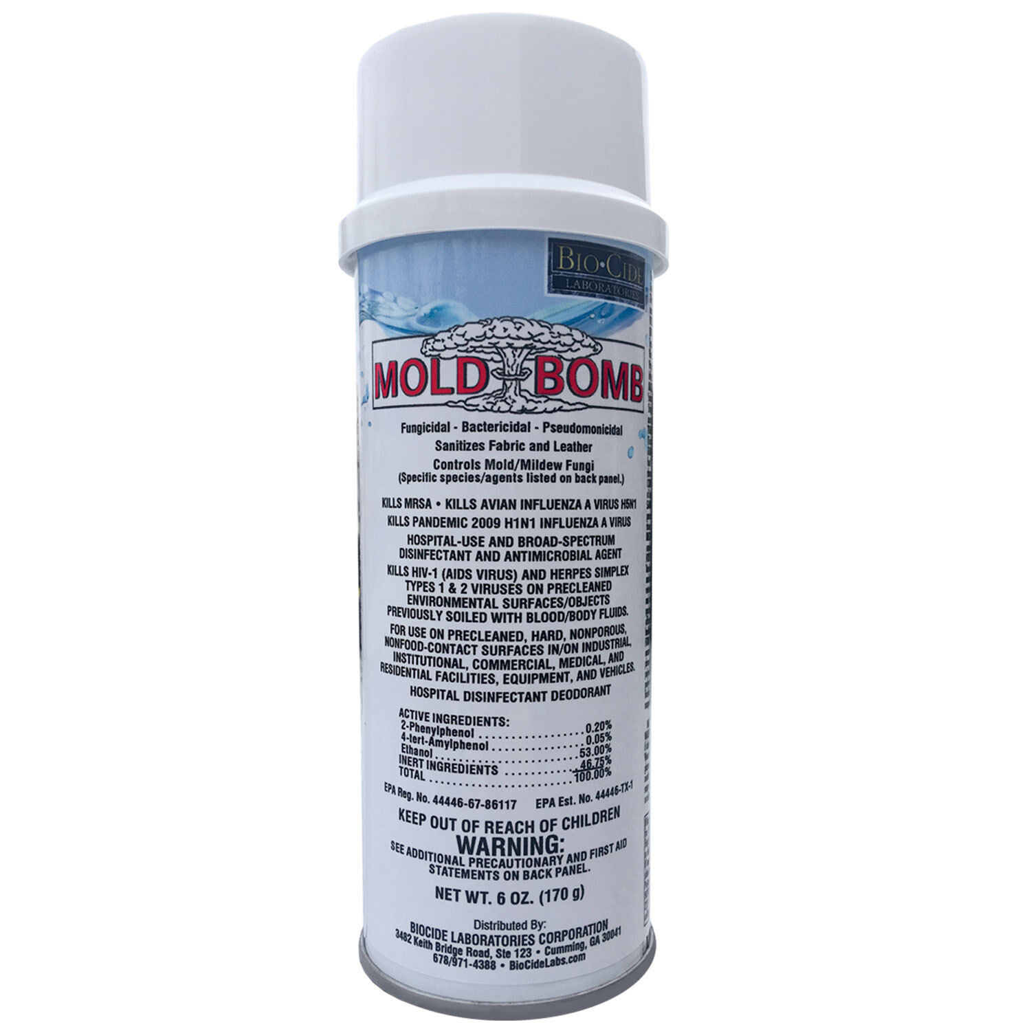 Купить BioCide - BioCide Mold Bomb Fogger...blows mold away!  EPA Registered