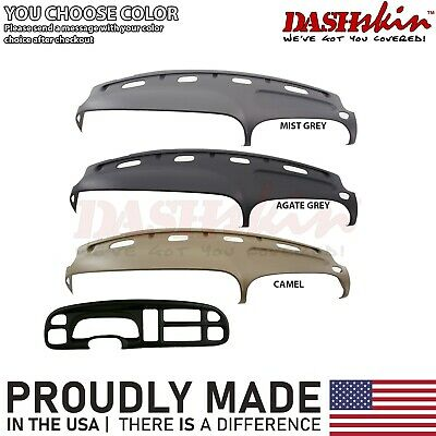 1999 2000 2001 Dodge Ram Dash Cover Skin Cap Kit +Bezel Cover You Choose Color