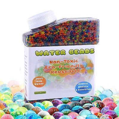 Water Beads (40,000 beads) Vase Filler Plant Flower Jelly Crystal Soil Gel Balls