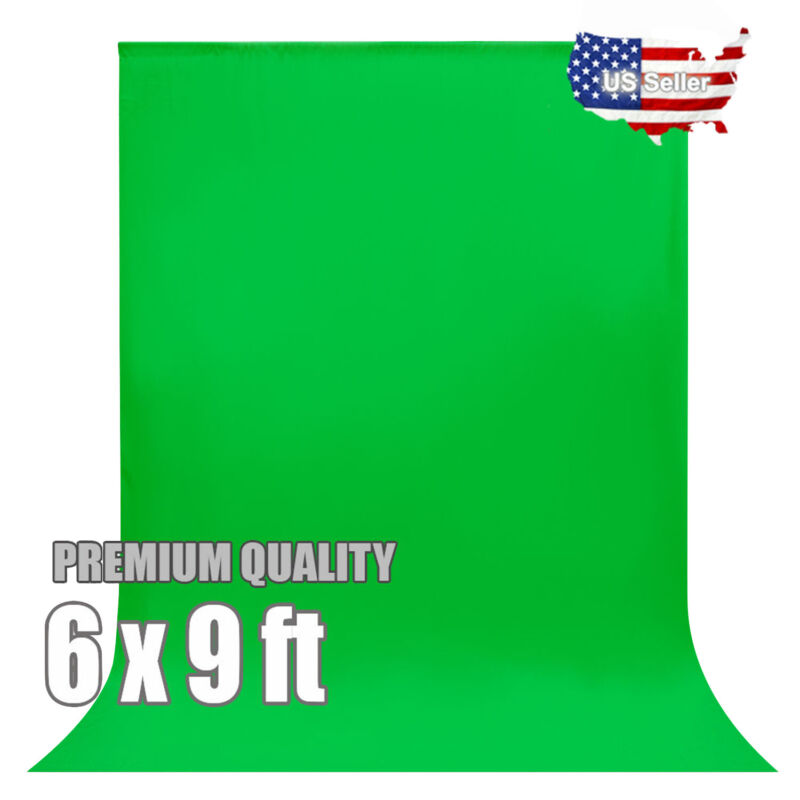 6 x 9 ft Green Screen Backdrop Photo Studio Background Photography SELLER