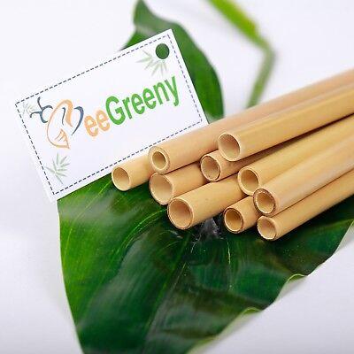 Set of 10 Bamboo Straws– 8