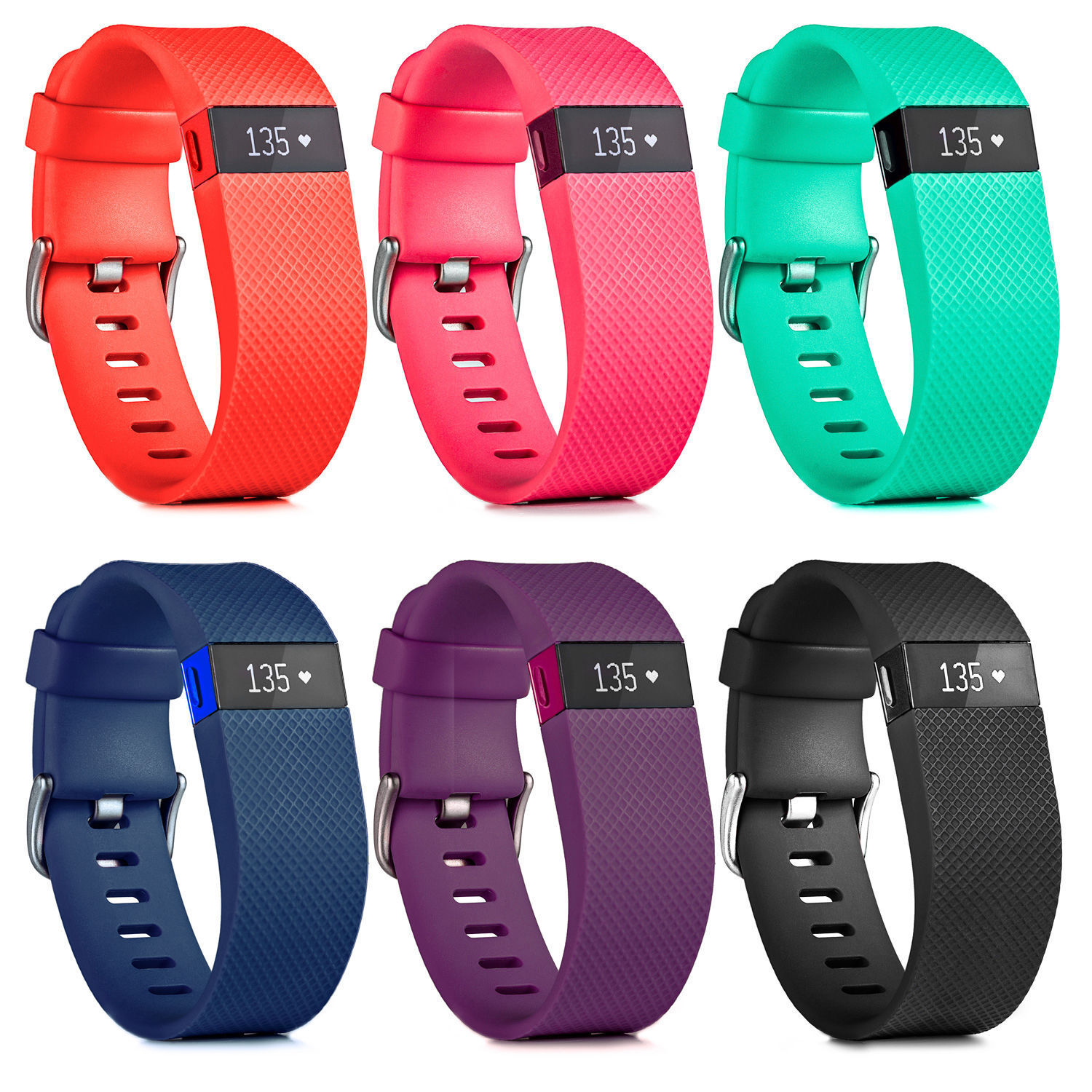 "Fitbit Charge HR Activity, Heart Rate + Sleep Wristband Small (5.4"" - 6.2"")"