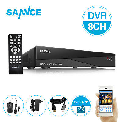SANNCE 8CH 5in1 1080N Digital Video Recorder HDMI DVR for Security CCTV Camera