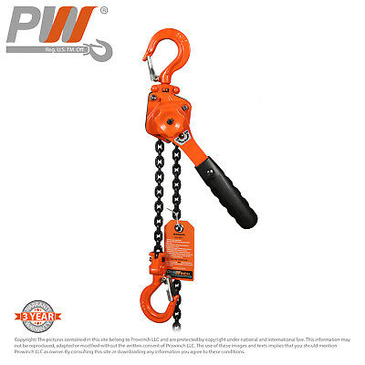 Prowinch Mini Lever Chain Hoist 12 Ton 1100 Lbs