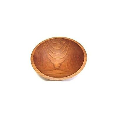 12 Inch Solid Cherry Wood Salad Bowl - Holland Bowl Mill