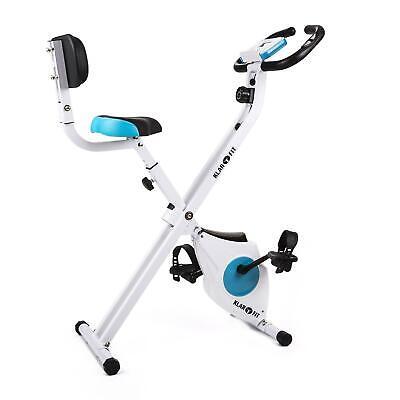 Bicicleta Estática Bici Fitness Plegable Ergonómica Eléctrica Cardio -B-STOCK