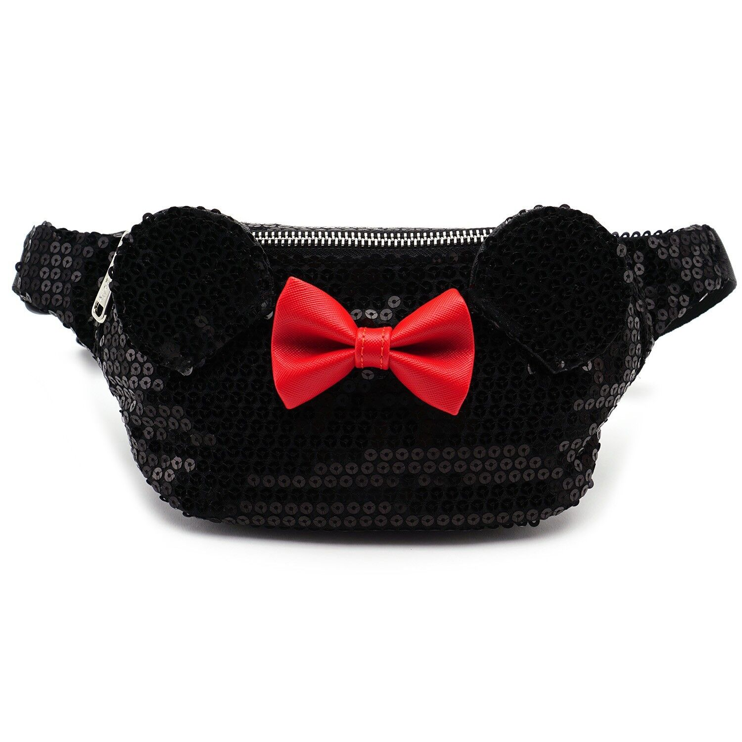 Loungefly Disney Minnie Mouse Sequins Faux Leather Fanny Pac