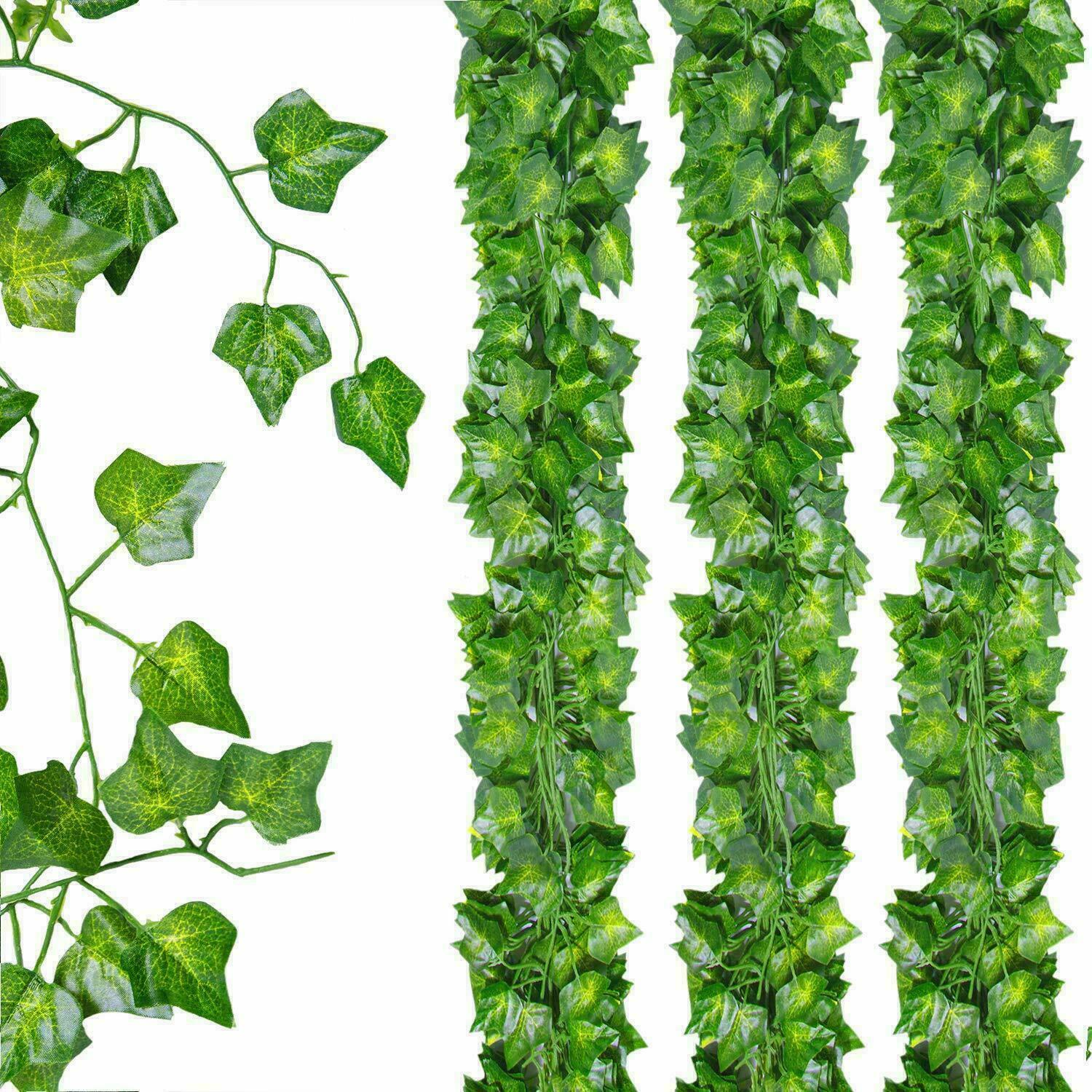 Home Decoration - Artificial Ivy Leaf Fake Plants Hanging Garland Plants Vine Foliage Home Decor