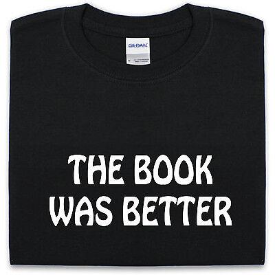The Book War Besser - T-Shirt Neuheit Story Lesen Lustiger Spruch