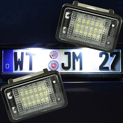 LED Kennzeichenbeleuchtung für Mercedes GLK-Klasse | Typ X204 | 2008-2012 [7208]