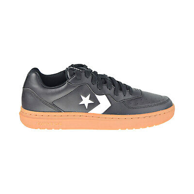 Converse Rival Ox Men's Shoes Black-White-Gum Honey 166082C
