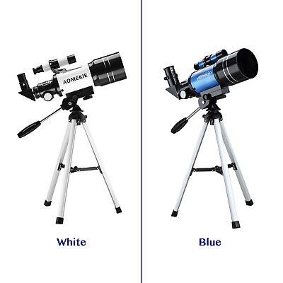 70mm Portable Astronomical Refractor Telescope Travel Scope 2 Eyepieces Tripod