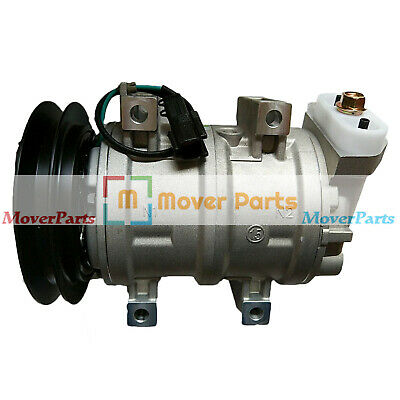 Air Conditioning Compressor For Hitachi Zx125us Zx200 Zx225us Zx230 Zx300w