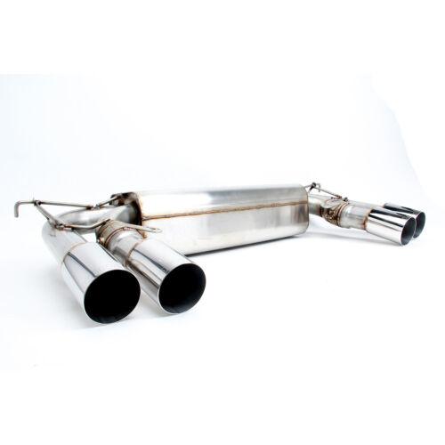 Dinan D660-0047-BLK Stainless Exhaust