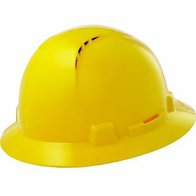 Lift Safety Hbfc-7 Briggs Full Brim Vented Plastic Hard Hat Qty 6
