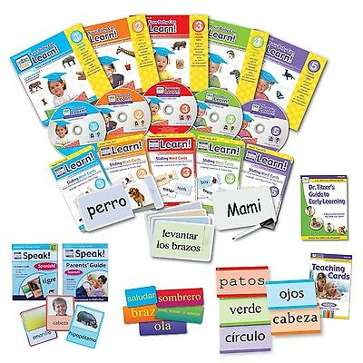Your Baby Can Learn Speak Spanish Deluxe Kit ~ Authorized Retailer~Brand New