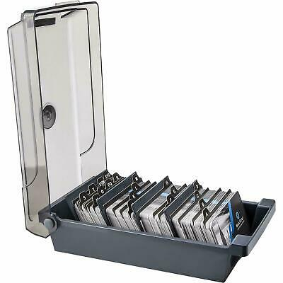 Business Card Holder Box File Storage Index Organizer Rolodex For500 Cards Sze 4