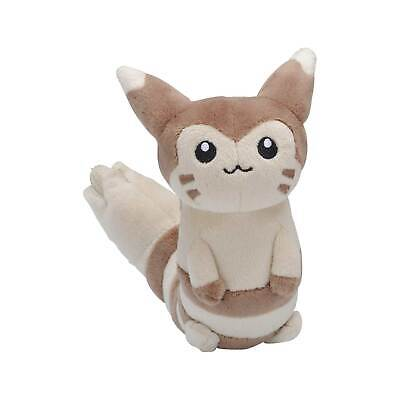 Pokemon Center Original Furret Sitting Cuties Plush 6 ½ Inch