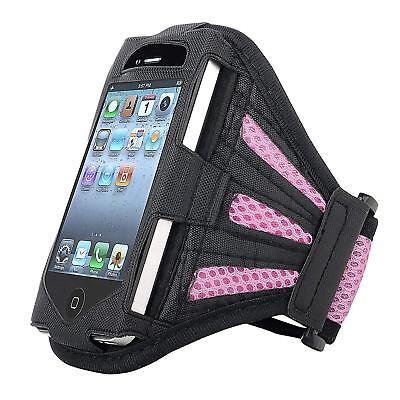 Armband Mobile Phone Jogging Gym etc INSTEN Black / Purple New