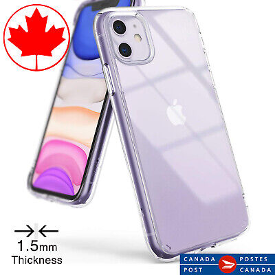 Premium Quality Clear Case for iPhone 11 - Transparent - 1.5mm Thickness