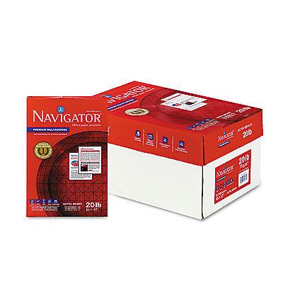 Navigator Premium Multipurpose Paper 97 Brightness 20lb 11 x 17 White 2500