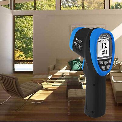 Non-contact Digital Laser Infrared Thermometer Gun Handhold Auto Range 1500c