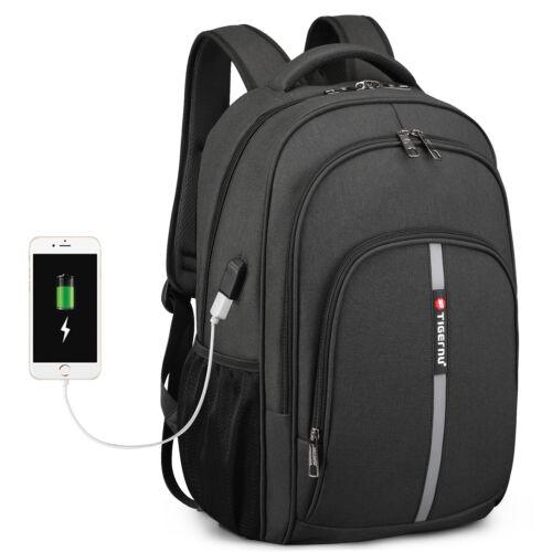 """Waterproof 15.6"""" Laptop Backpack Heavy-duty Bookbag School T"""