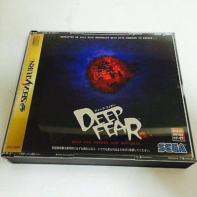 USED Deep Fear Sega Saturn Japan Import