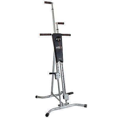 Maxi Climber The Unisex Vertical Climbing Fitness System Stepper Cardio Machine