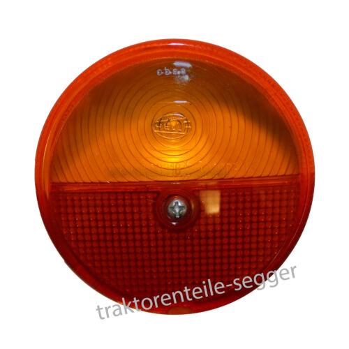 Lichtscheibe für Hella Blink u. Rückleuchte Rücklicht 05 Traktor Schlepper Foto 1