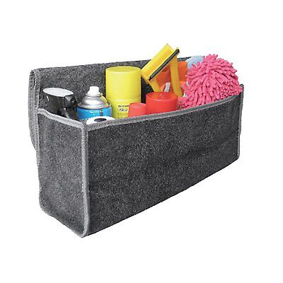 Grey Carpet Car boot Tidy Organizer storage Trunk Bag, Tools Unit,Care Box