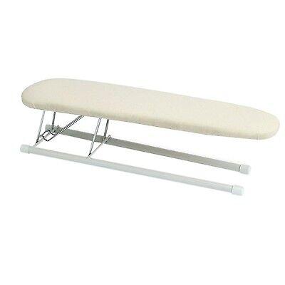 Foldaway Ironing Board - Tabletop Sleeve Ironing Board Folding Steel Top Pressing Portable Dorm Small NEW