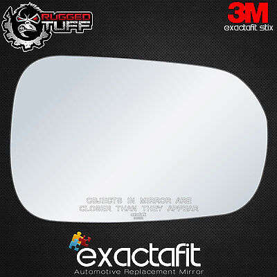 (New Replacement Side Mirror Glass 99-02 HONDA ACCORD US Passenger's Right Convex)