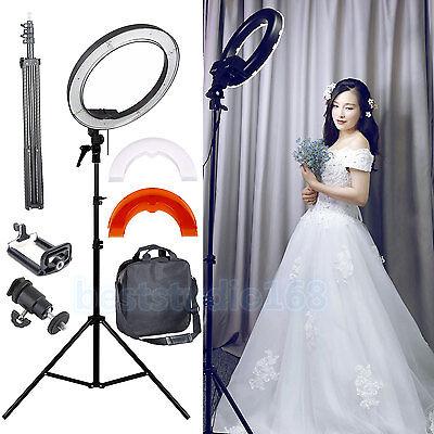 Dimmable Diva 35W 30cm LED Studio Ring Light Beauty Make Up Selfie Video Photo