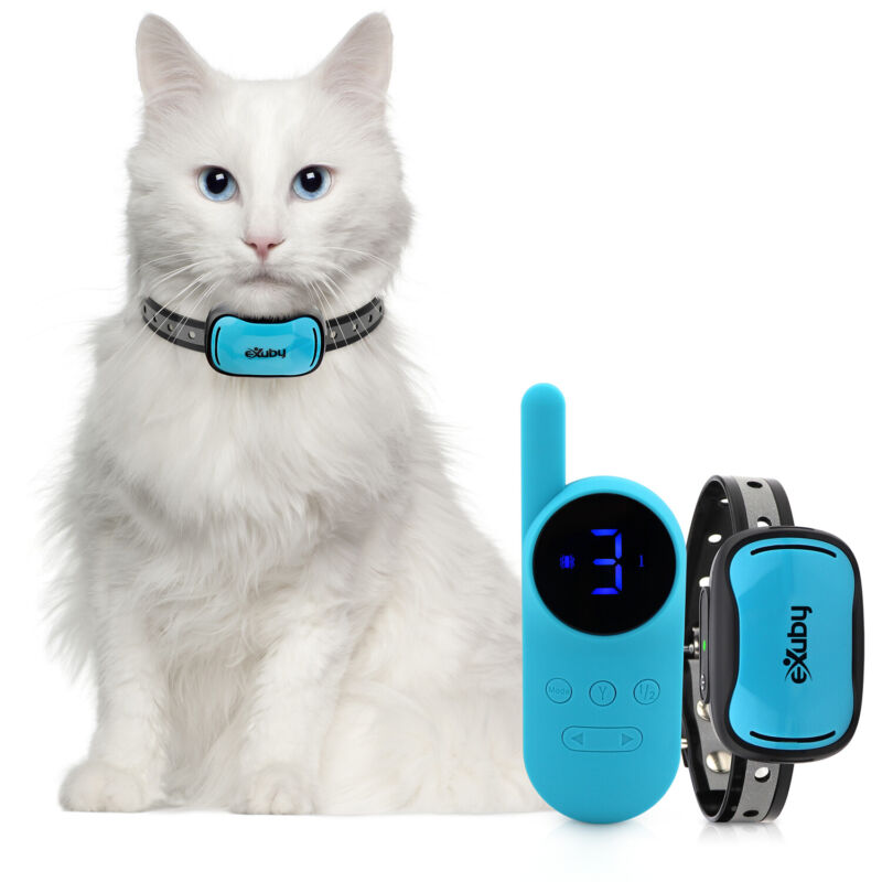eXuby Tiny Shock Collar for Cats Smallest Collar on the Market