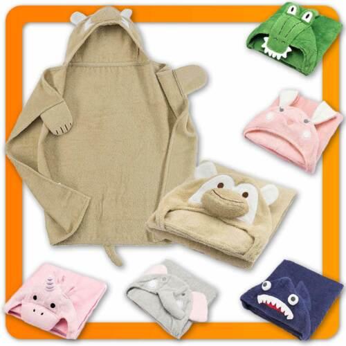 Kinder Kapuzenhandtuch Baby Handtuch & Kapuze Kapuzenbadetuch Frottee Badeponcho