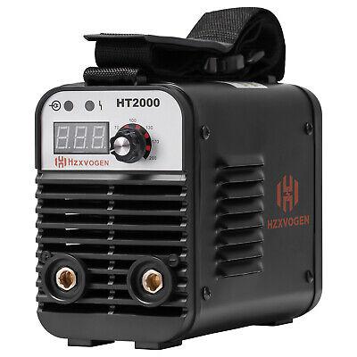 Hzxvogen Portable Ht2000 Arc Welder 110220v Dual Volt Arc Stick Welding Machine