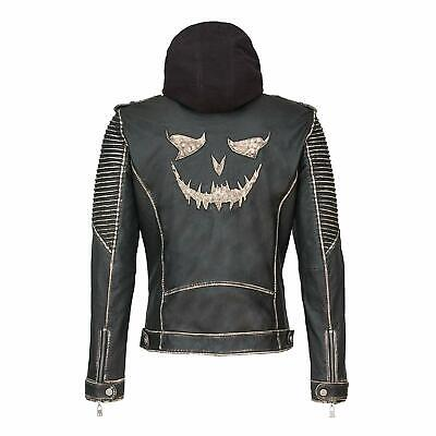 Suicide Squad Joker Leather Jacket Best For Party Halloween Costume Jacket](Best Halloween Party Costumes)