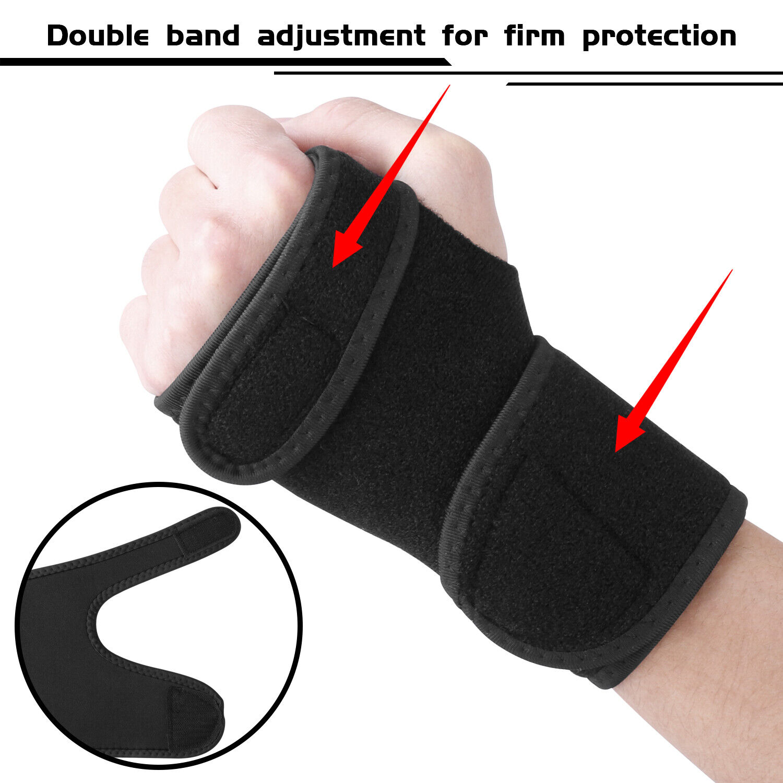 Right Left Wrist Hand Brace Support Splint Carpal Tunnel Sprain Arthritis Sports Health & Beauty