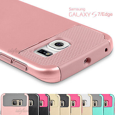 For Samsung Galaxy S7 / S7 Edge Phone Case Shockproof Hybrid Rugged Hard