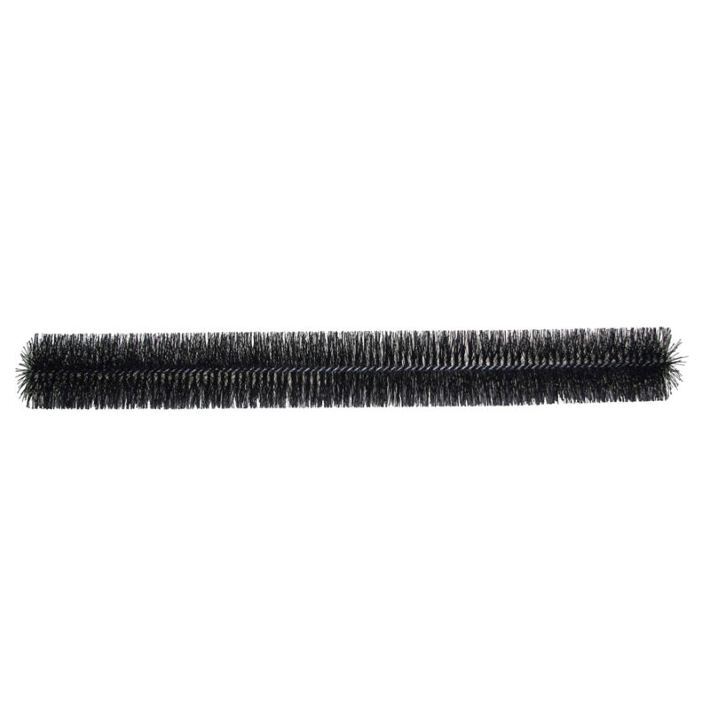 GutterBrush 5 Inch Simple Roof Leaf Gutter Guard with Bristles, 120 Foot Pack