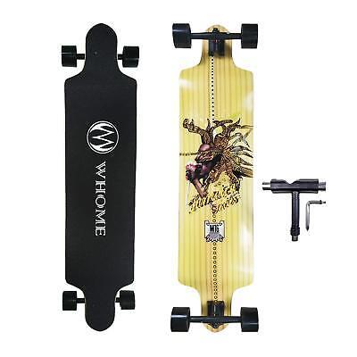 Beginner Skateboards (Skateboard for Beginner - 41 Inch Indian M16 Downhill Freeride Cruising)