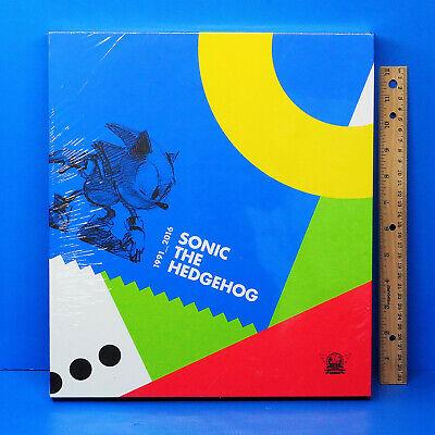 Sonic The Hedgehog 25th Anniversary Hardcover Art Book Figure Yuji Uekawa Print