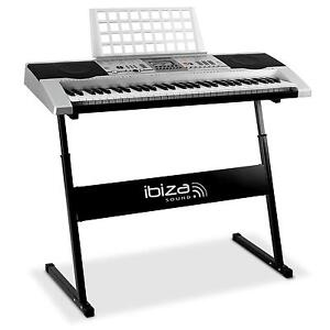 clavier synthetiseur piano numerique usb midi pied sac ebay. Black Bedroom Furniture Sets. Home Design Ideas