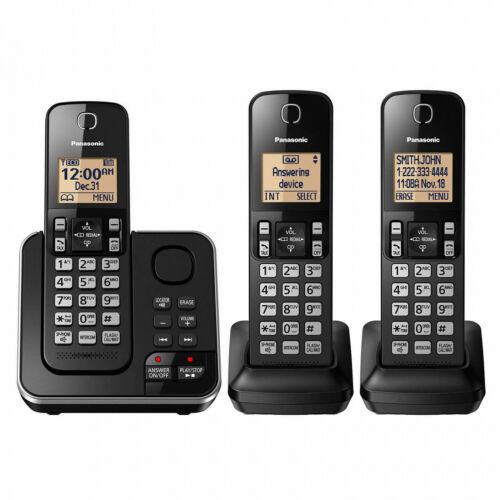 6.0 Home PLUS 3-Handset Expandable Digital Cordless Phone System