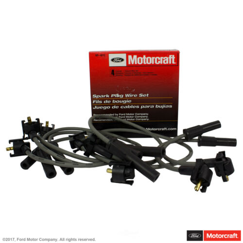 HD Spark Plug Wire Set Replace FORD OEM # WR6034 High Temp