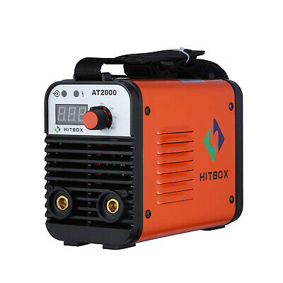 Hitbox Arc Welder 110v 220v Dual Volt Rod Stick Inverter Arc Welding Machine