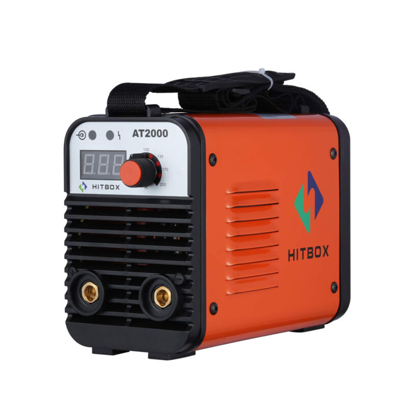 HITBOX 110V 220V Inverter Welder Mini Handheld Arc Welding Machine MMA 20-160A