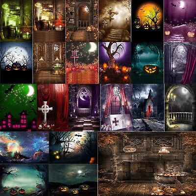 Photography Background Cloth Halloween Theme Studio Photo Backdrop Home Decor