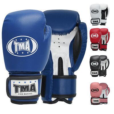 TMA Kids Boxing gloves best for kickboxing, Martial Arts, MMA, Muay (Best Boxing Gloves For Kids)